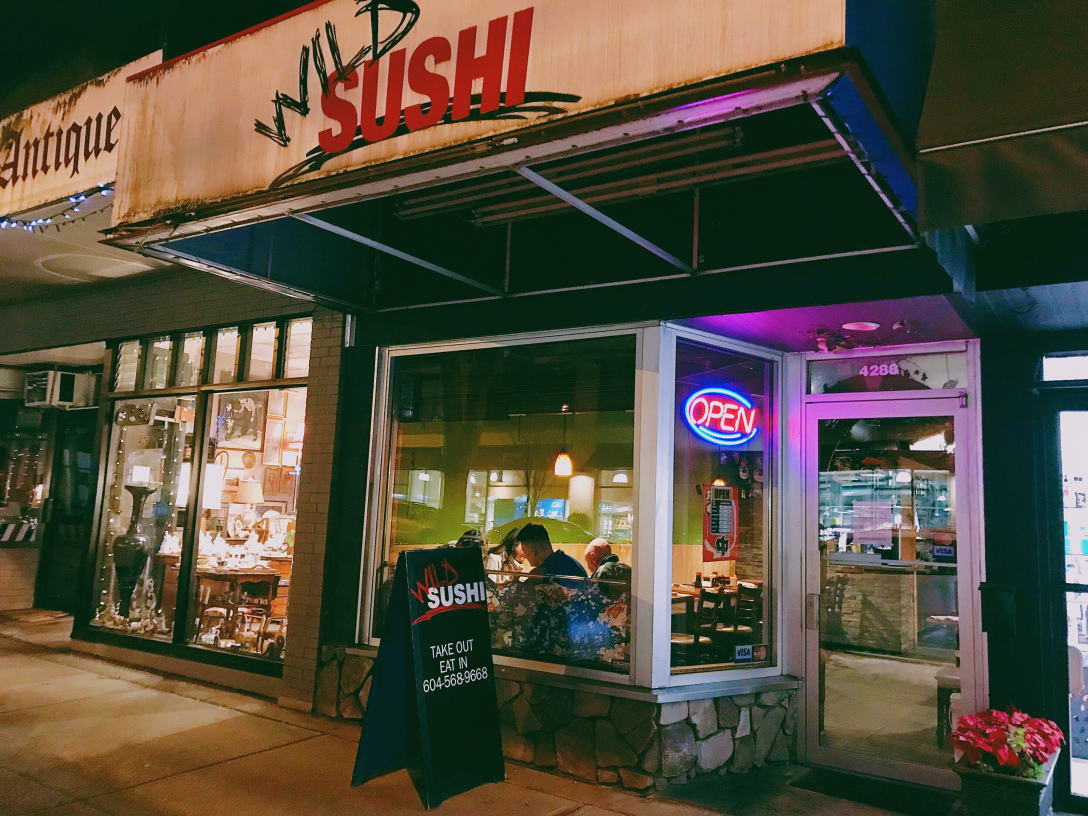 Restaurant Review: Wild Sushi in Vancouver